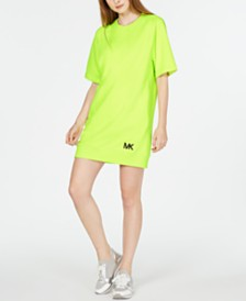 MICHAEL Michael Kors Short-Sleeve Sweatshirt Dress