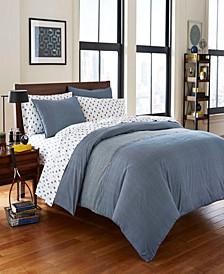 Thompson Comforter Sham Set, Full/Queen