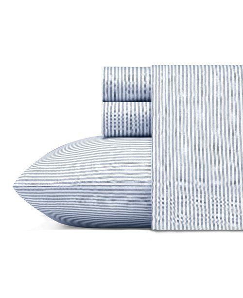 Poppy & Fritz Oxford Stripe Sheet Set, Twin