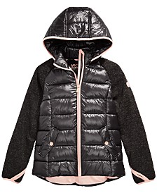 Michael Michael Kors Toddler Girls Hooded Puffer Jacket