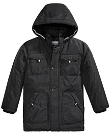 Michael Michael Kors Toddler Boys Faux-Fur-Trim Hooded Snorkel Jacket