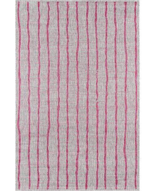"Novogratz Collection Novogratz Villa Vi-03 Fuschia 2'7"" x 7'6"" Runner Area Rug"