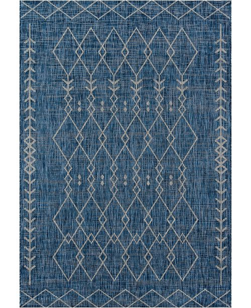 "Novogratz Collection Novogratz Villa Vi-08 Blue 3'11"" x 5'7"" Area Rug"