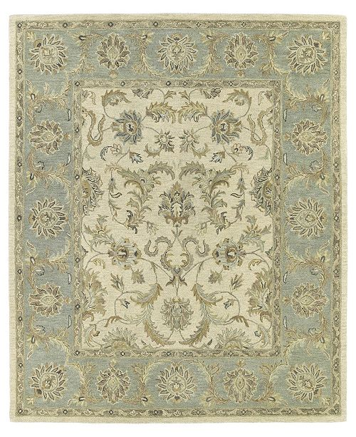 Kaleen Solomon King David-52 Ivory 9' x 12' Area Rug