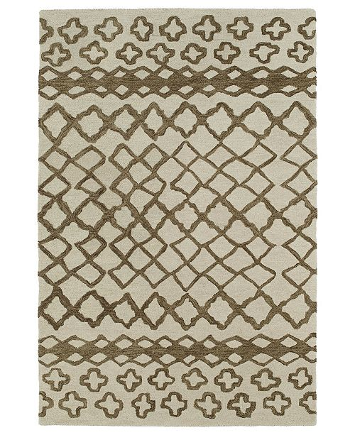 Kaleen Casablanca CAS01-49 Brown 2' x 3' Area Rug