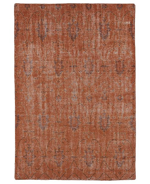 Kaleen Restoration RES01-31 Pumpkin 9' x 12' Area Rug