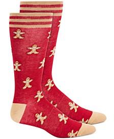 Gingerbread Men Socks, Created for Macy's