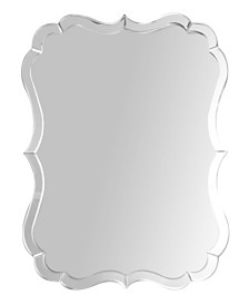 Abbyson Living Willow Rectangle Wall Mirror