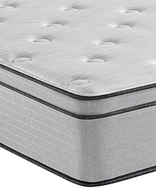 "BR800 12"" Plush Euro Top Mattress- Twin"