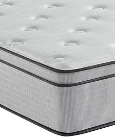 "Beautyrest BR800 12"" Plush Euro Top Mattress- Queen"