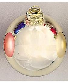 "1.25"" Glass Christmas Ornaments - Box of 40"