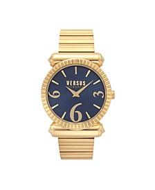 Versus Versace Women's Rèpublique Yellow Gold Bracelet Watch 38MM