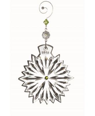 2019 Snowflake Wishes Prosperity Ornament