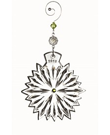 2019 Snowflake Wishes Prosperity Ornament