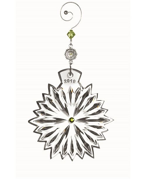 Waterford 2019 Snowflake Wishes Prosperity Ornament