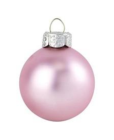 "4"" Glass Christmas Ornaments - Box of 6"