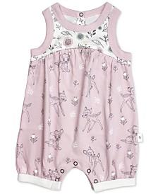 finn + emma Baby Girls Cotton Bambi Romper