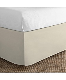 Cotton Blend Tailored Queen Bed Skirt