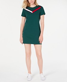 Tommy Hilfiger Striped T-Shirt Dress