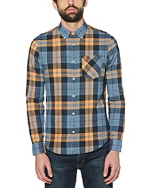 Men's Roadmap Jaspé Plaid Shirt