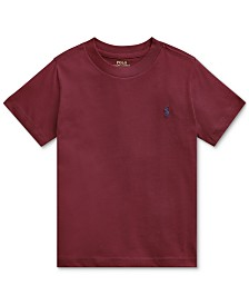 Polo Ralph Lauren Toddler Boys Jersey Cotton T-Shirt
