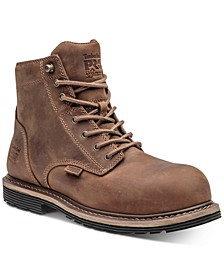 "Men's 6"" Waterproof Safety-Toe Millworks Boots"