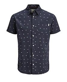 Jack & Jones Men's Summer Shirt with all over printed details