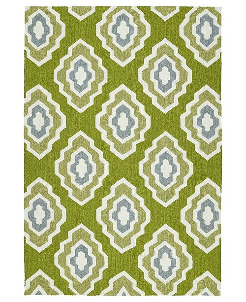 Kaleen Escape ESC02-50 Green 9' x 12' Area Rug