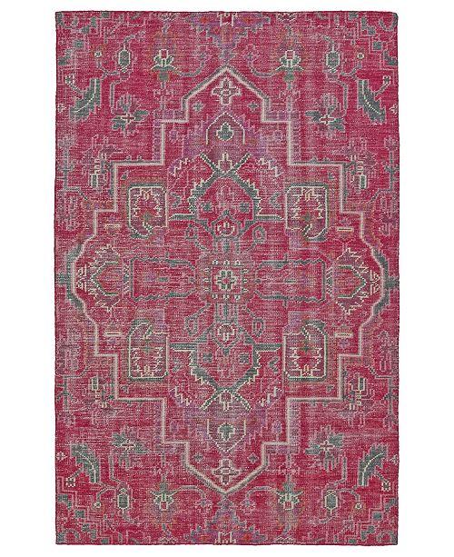 Kaleen Relic RLC01-92 Pink 8' x 10' Area Rug