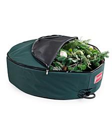 "48"" Wreath Storage Bag w/ Removable Handle Foam Lined"