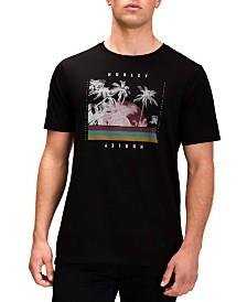 Hurley Men's Palm Retro Graphic T-Shirt