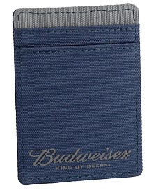 Budweiser Imprint Front Pocket Bill Holder Wallet