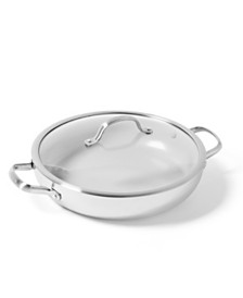 "GreenPan Venice Pro 12"" Ceramic Non-Stick Everyday Pan & Lid"