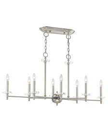 Bancroft 8-Light Linear Chandelier