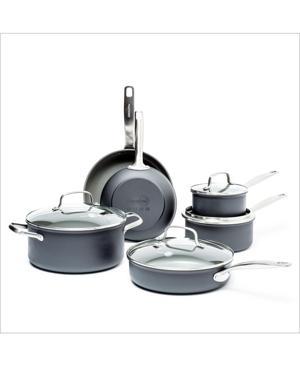 GreenPan Chatham 10-Pc. Ceramic Non-Stick Cookware Set