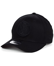 New Era Dallas Mavericks Triple Black 9FIFTY Snapback Cap