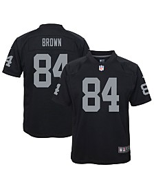 Nike Big Boys Antonio Brown Oakland Raiders Game Jersey