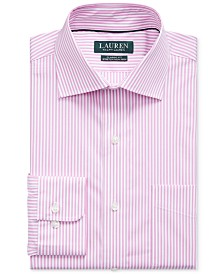 Lauren Ralph Lauren Men's Pink Stripe Dress Shirt