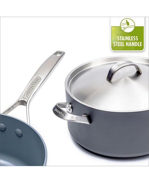 8d4de7936441 GreenPan Paris Pro 11-Pc. Ceramic Non-Stick Cookware Set & Reviews ...