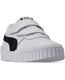 Puma Women's Cali Velcro Casual Sneakers from Finish Line