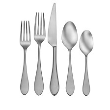Satin Kailey 20-PC Flatware Set, Service for 4