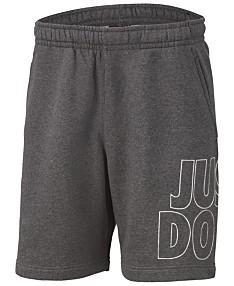 c710abcab8 Nike Men's Sportswear Fleece Just Do It Shorts
