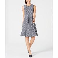 Deals on Style & Co Striped Swing Dress