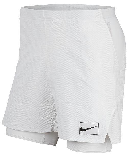 Men's Court Flex Ace 2 in 1 Dri FIT Tennis Shorts