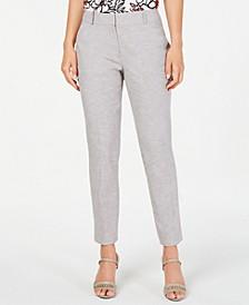 Petite Straight-Leg Classic Pants