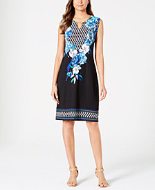JM Collection Keyhole Sheath Dress, Created for Macy's