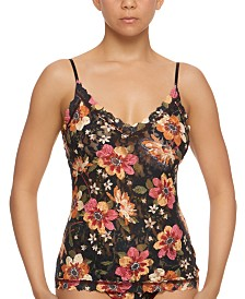 Hanky Panky Women's Floral-Print Lace Camisole 8I4734