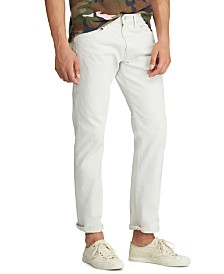 Polo Ralph Lauren Men's Stretch-Denim Hampton Five-Pocket Jeans