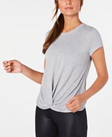 Calvin Klein Performance Twist-Front T-Shirt