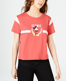 Disney Juniors' Iconic Mickey Mouse T-Shirt